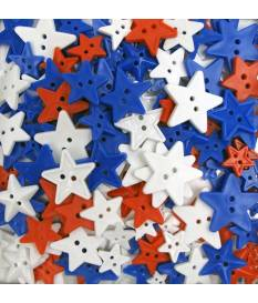 Bottoni Big Bag of buttons, Stars