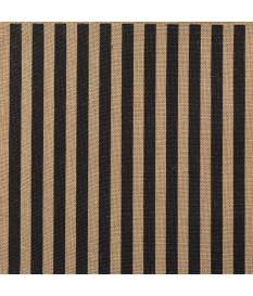 Cartoncino in Burlap, Stripes