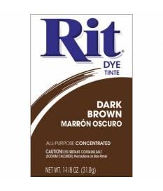 Colorante in polvere RIT, Marrone scuro 32 g