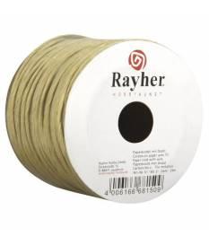 Corda di carta con filo metallico Naturale, 25 m, 2mm