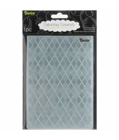 Embossing Folder Darice, Rombi