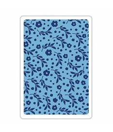 Embossing folder Sizzix Textured Impression, Botanic