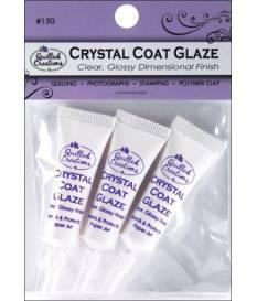 Finitura per quilling Crystal Coat Glaze, 3 pz