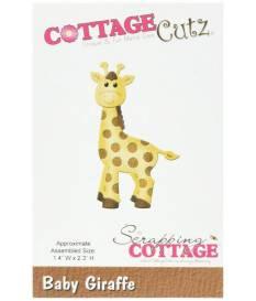 Fustella CottageCutz, Giraffa Baby