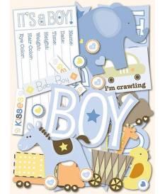 Fustelle per Die Cutting, Itsy Bitsy Baby Boy