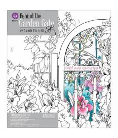 Libro da colorare, Behind The Garden Gate