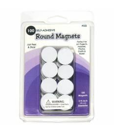 Magneti Rotondi per Creazioni Quilling 1,9cm - 100 pezzi