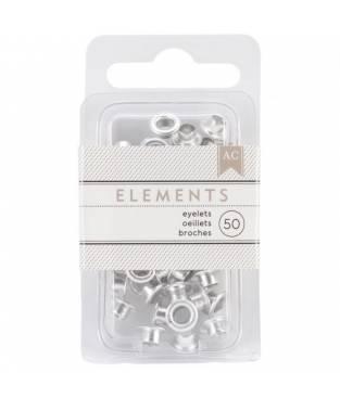 Occhielli American Crafts 0,47 cm Argento