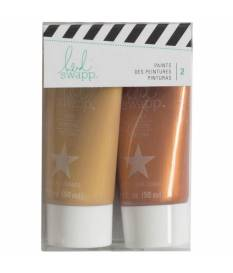 Paint Set per timbri Heidi Swapp, Rose & Rose Gold