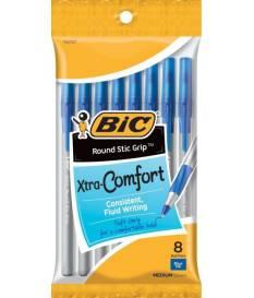 Penna a sfera Bic Xtra Comfort 8 pz, Blu