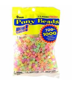 Perline Pony Beads, Glow in the Dark