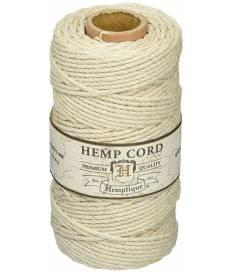 Rocchetto Corda di Canapa 62,5m 100g Hemptique - Colore Naturale