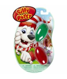 Silly Putty 2 pezzi - Rosso & Verde