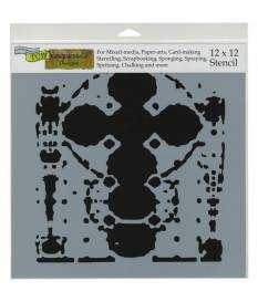 Stencil Altarpiece, Crafter\'s Workshop 30x30 cm
