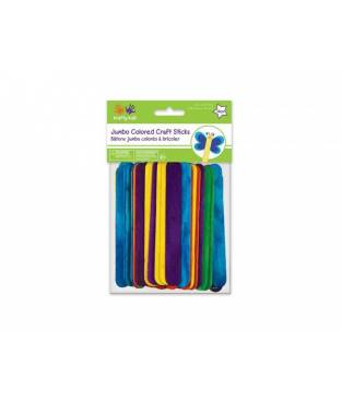 Stick colorati Jumbo Craft 50 pz