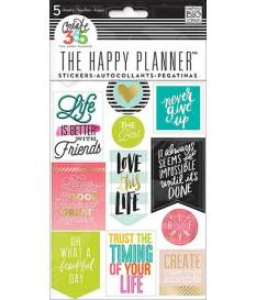 Stickers adesivi The Happy Planner, Bold Washi
