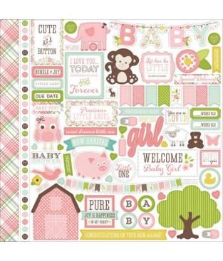 Stickers Bundle of Joy, Baby Girl