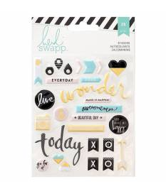 Stickers Heidi Swapp Memory Planner,Words & Icons