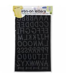 Stickers Soft Flock Iron On, Lettere