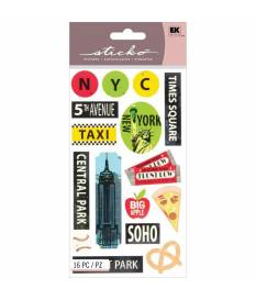 Stickers Sticko Classic, Big Apple