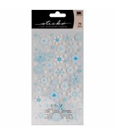 Stickers Sticko Classic, Fiocchi di neve