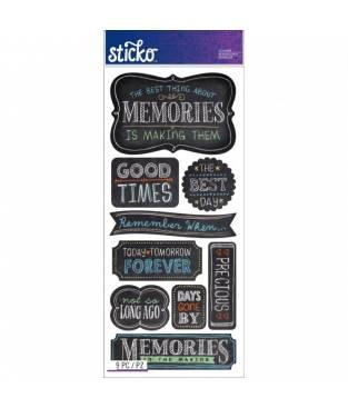 Stickers Sticko Classic, Memories