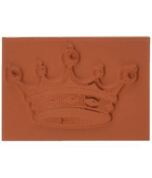 Timbro cling stamp Deep Red, Crown for Royalty