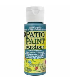 Vernice Patio Paint, Turchese 59ml