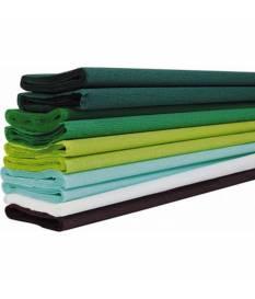10 fogli di carta crespa verde Clairefontaine