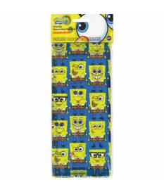 16 Sacchetti di plastica Spongebob  10x24 cm