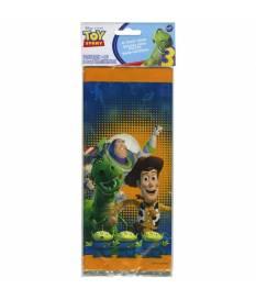 16 sacchetti di plastica Toy Story 10x24 cm