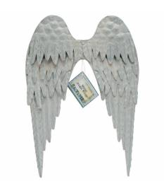 Ali d\'angelo in metallo