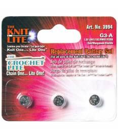 Batterie di ricambio per Crochet Lite