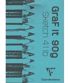 Blocchetto da disegno Graf-it Bianco 10,5 x 7,4 cm