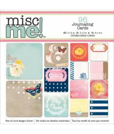 Carte decorative Misc Me Journal Contents Sweet Life