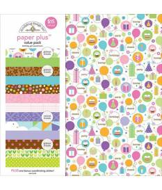 Cartoncino Doodlebug Paper Plus, Birthday Girl