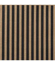 Cartoncino in Burlap, Stripes