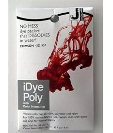 Colore per tessuto iDye Poly, colore Cremisi