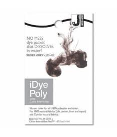 Colore per tessuto iDye Poly, Grigio Argento
