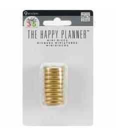 Create 365 Planner Anelli 2 cm 9 pz Oro