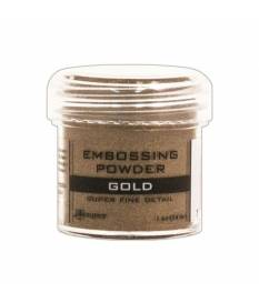 Embossing Powder Sticky, Oro super fine