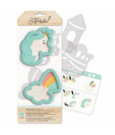 Formine per biscotti Sweet Sugarbelle, set da 7 pz, Enchanted