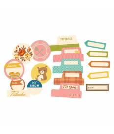 Fustella Saturday Mornings Cardstock, Tidbits