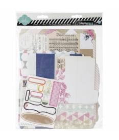 Kit di decorazioni album scrapbooking Heidi Swapp Memory 9X11.5