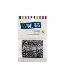 Nastro Washi Tape Hall Pass Adult, Sketch Mark