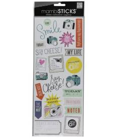 Sayings Stickers Our Life Smile, Me & My Big Ideas