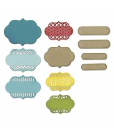 Set di fustelle Sizzix Thinlist