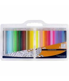 Set di matite a pastello Pro Art 50 pezzi