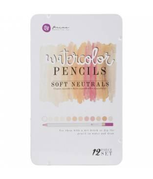 Set di matite ad acquerello Prima Marketing, Soft Toners