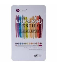 Set di matite ad acquerello Prima Marketing, Vintage Lover